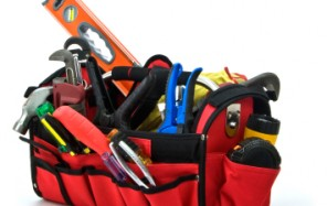 Toolbox, Hardhat, construction, safety, equipment, worker, tools